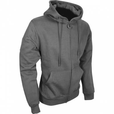 Tactical Zipped Hoodie – Titanium product image