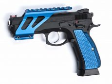 CZ SP01 Shadow Rail Mount – Blue image