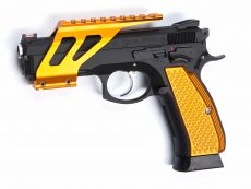 CZ SP01 Shadow Rail Mount – Orange image