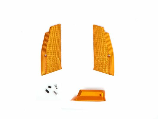 CZ SP01 Shadow Short Grip & Mag Funnel – Orange product image
