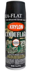 Krylon Camouflage Black Spray Paint image