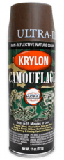 Krylon Camouflage Brown Spray Paint image