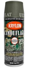 Krylon Camouflage Olive Spray Paint image