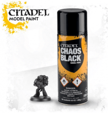 Games Workshop Citadel Chaos Black Paint image