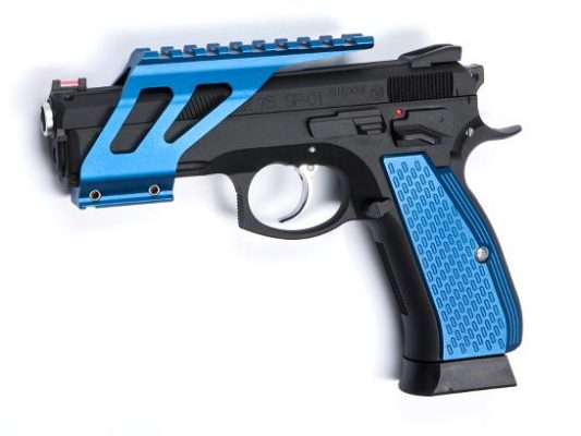 ASG Grip Shells For CZ SP-01 Shadow – Blue product image