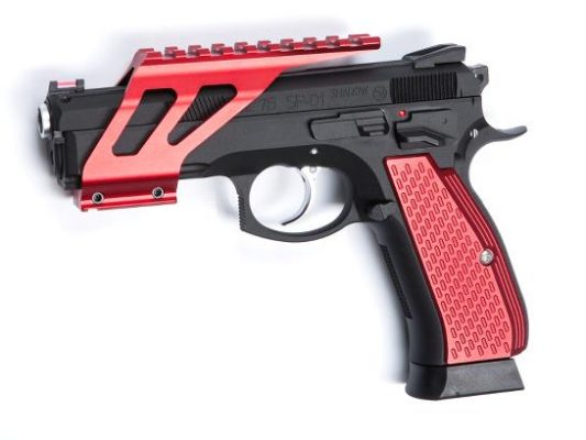 ASG Grip Shells For CZ SP-01 Shadow – Red product image