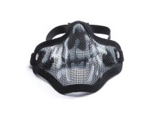 ASG Metal mesh mask with skull print image