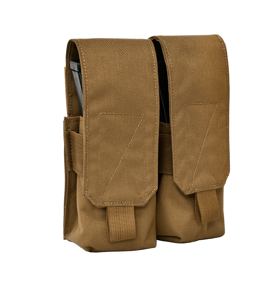 Stirling Tactical Double Magazine Pouch – Coyote Brown product image