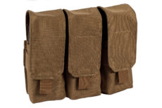 Stirling Tactical Triple Closed Magazine Pouch – Coyote Brown image