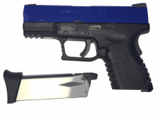 WE XDM 3.8 Pistol – Two Tone Blue image