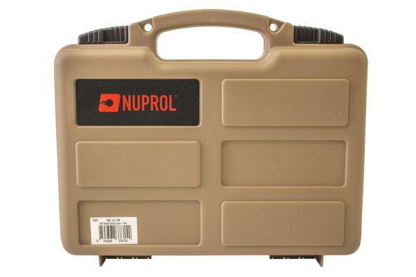 NUPROL  SMALL HARD CASE (PNP FOAM) – TAN product image