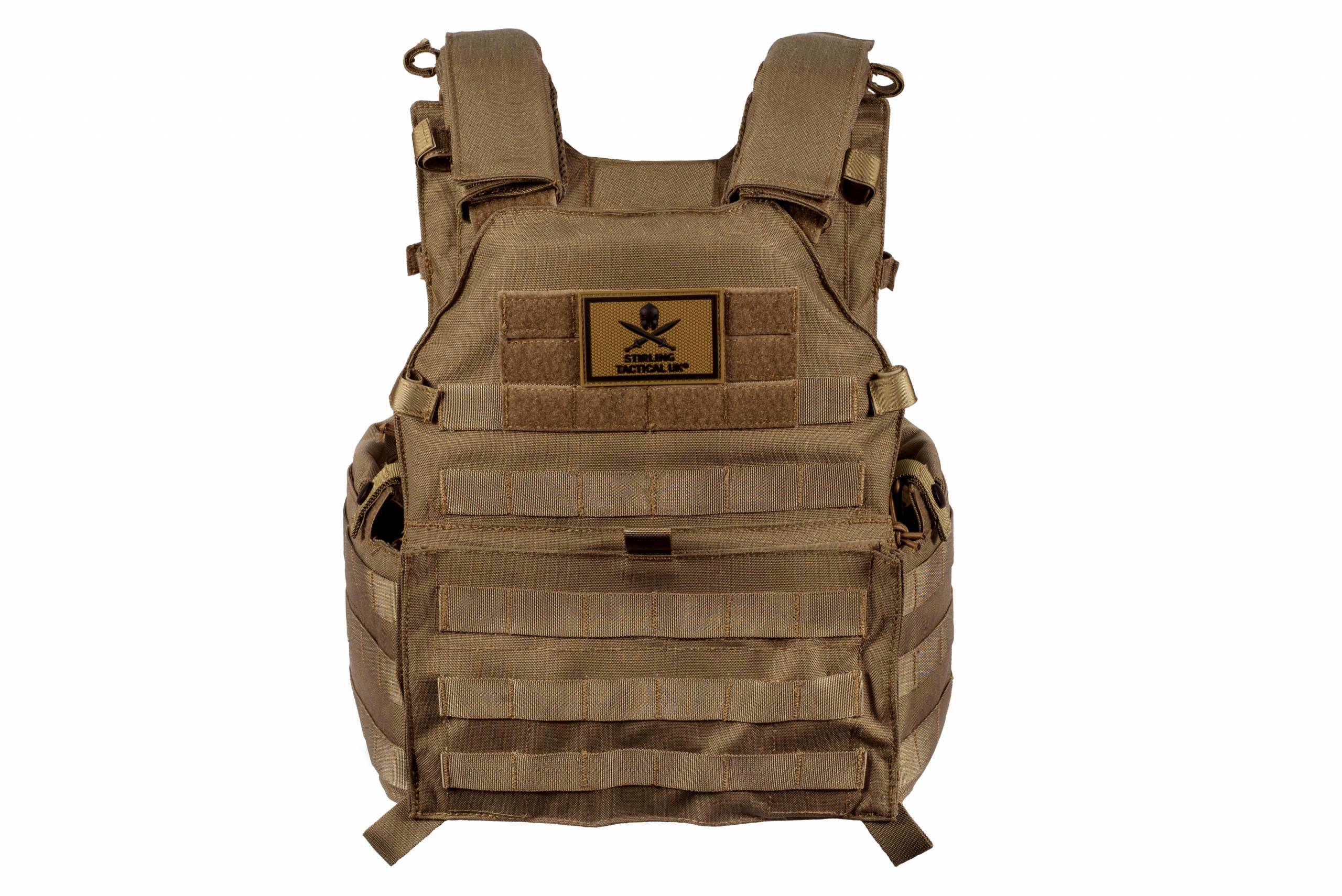 Stirling Tactical – SFC Tactical Vest Coyote Brown product image
