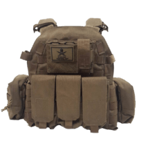 Stirling Tactical Fully Loaded SFC Vest – Coyote Brown image