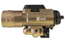 Nuprol NX400 Pistol Torch and Laser – Tan image