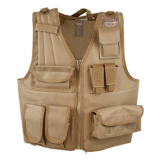 Valken Tactical Vest (Size Adjustable) – Tan image