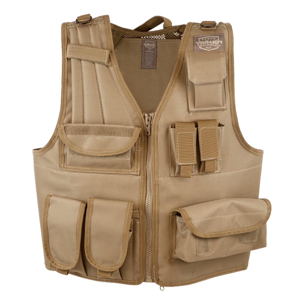 Valken Tactical Vest (Size Adjustable) – Tan product image