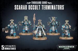 Warhammer: Scarab Occult Terminators product image