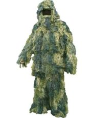 Kombat Ghillie Suit Woodland – Adult image