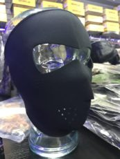 Black Neoprene Mask image