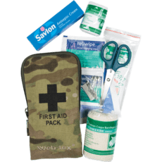 Web Tex Small First Aid Kit – Camo image