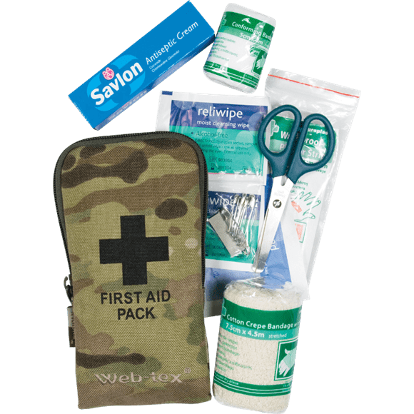 Web Tex Small First Aid Kit – Camo product image