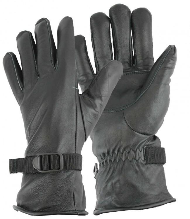 Highlander 95 Leather Gloves Black product image