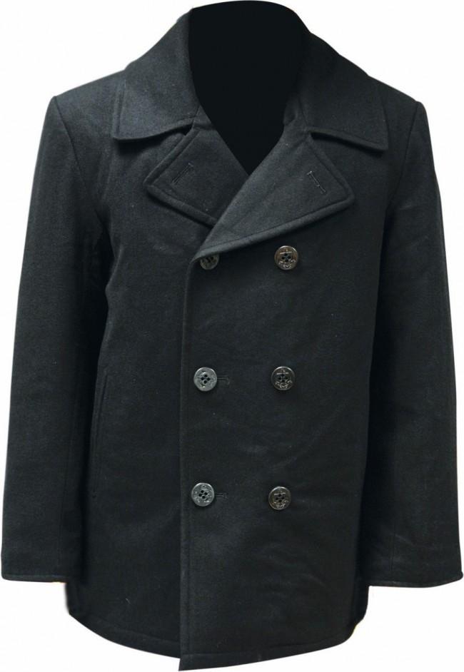 Highlander Pea Coat Black product image