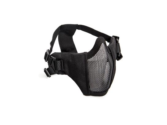 ASG Metal Mesh Mask with Cheek Pad – Black product image
