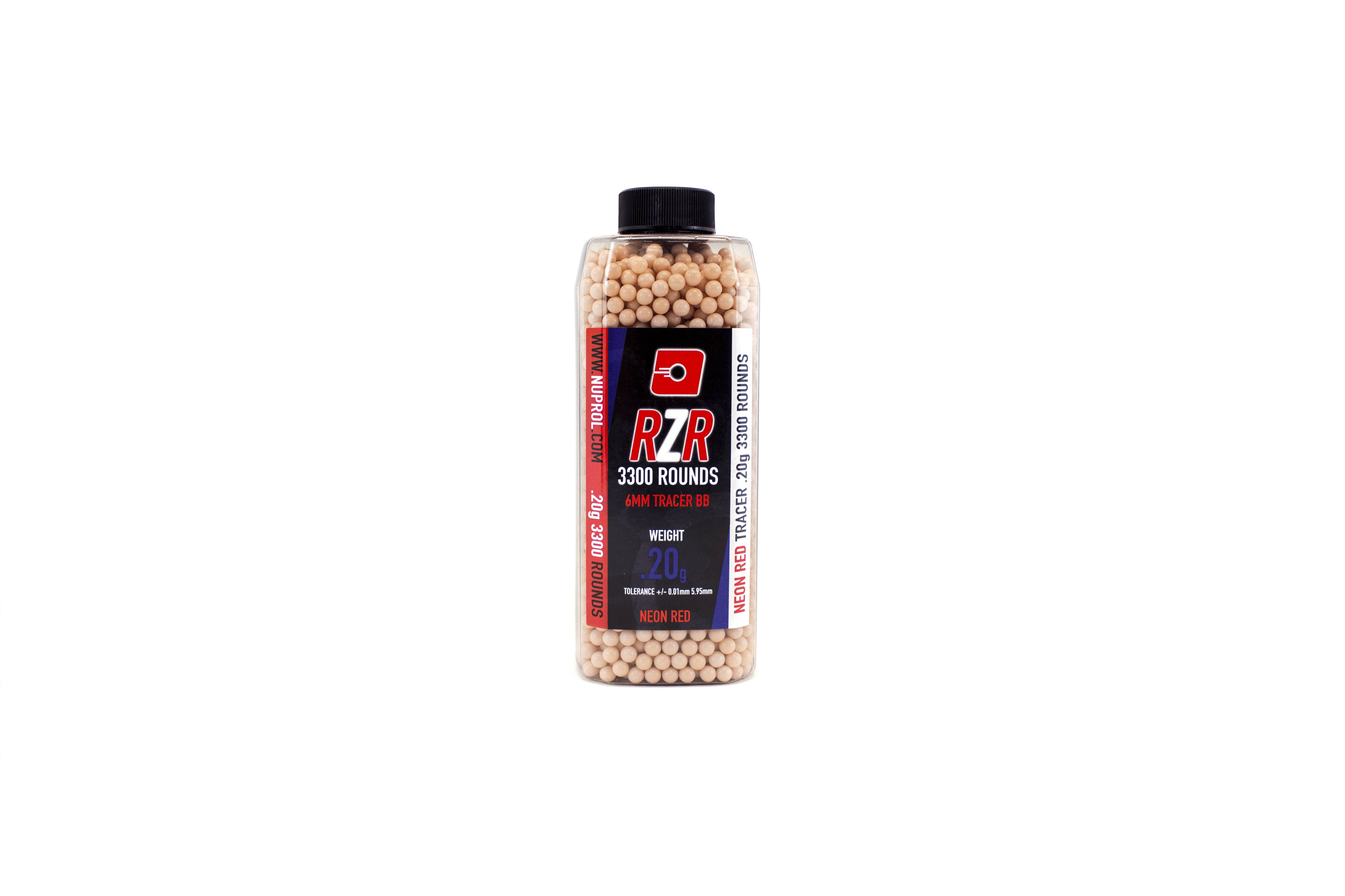 Nuprol RZR 3300Round 0.20G Red Tracer BB's product image