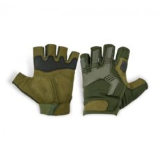 Highlander Raptor Fingerless Gloves – Olive Green image
