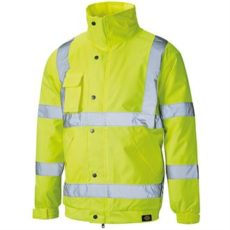 Dickies Hi-Vis Bomber Jacket (Yellow) image
