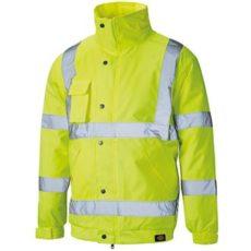 Dickies Hi-Vis Bomber Jacket (Yellow) image