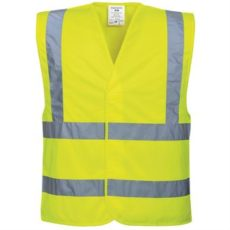Portwest Two Band and Brace Hi-Vis Vest (Yellow) image