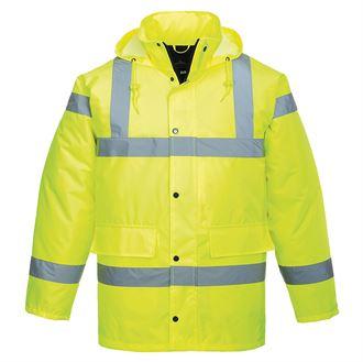 Hi-Vis Traffic Jacket (Yellow) product image