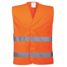 Portwise Hi-Vis Two Band Vest (Orange) image