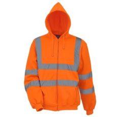 YOKO Hi-Vis Zip Hoodie (Orange) image