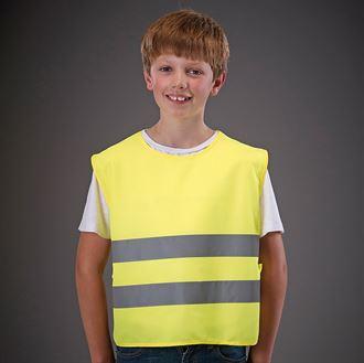YOKO Kids One Size Hi-Vis Vest (Yellow) product image