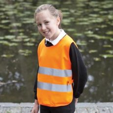 YOKO Kids One Size Hi-Vis Vest (Orange) image
