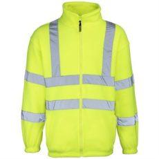 RTY Hi-Vis Zip Fleece Jacket (Yellow) image