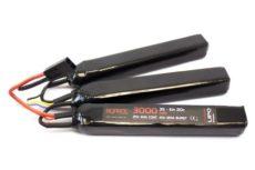 Nuprol 11.1v 3000mAh Lipo Battery Nunchuck image