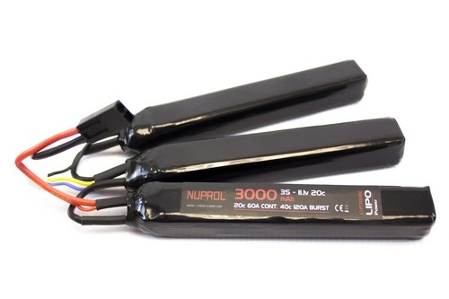 Nuprol 11.1v 3000mAh Lipo Battery Nunchuck product image