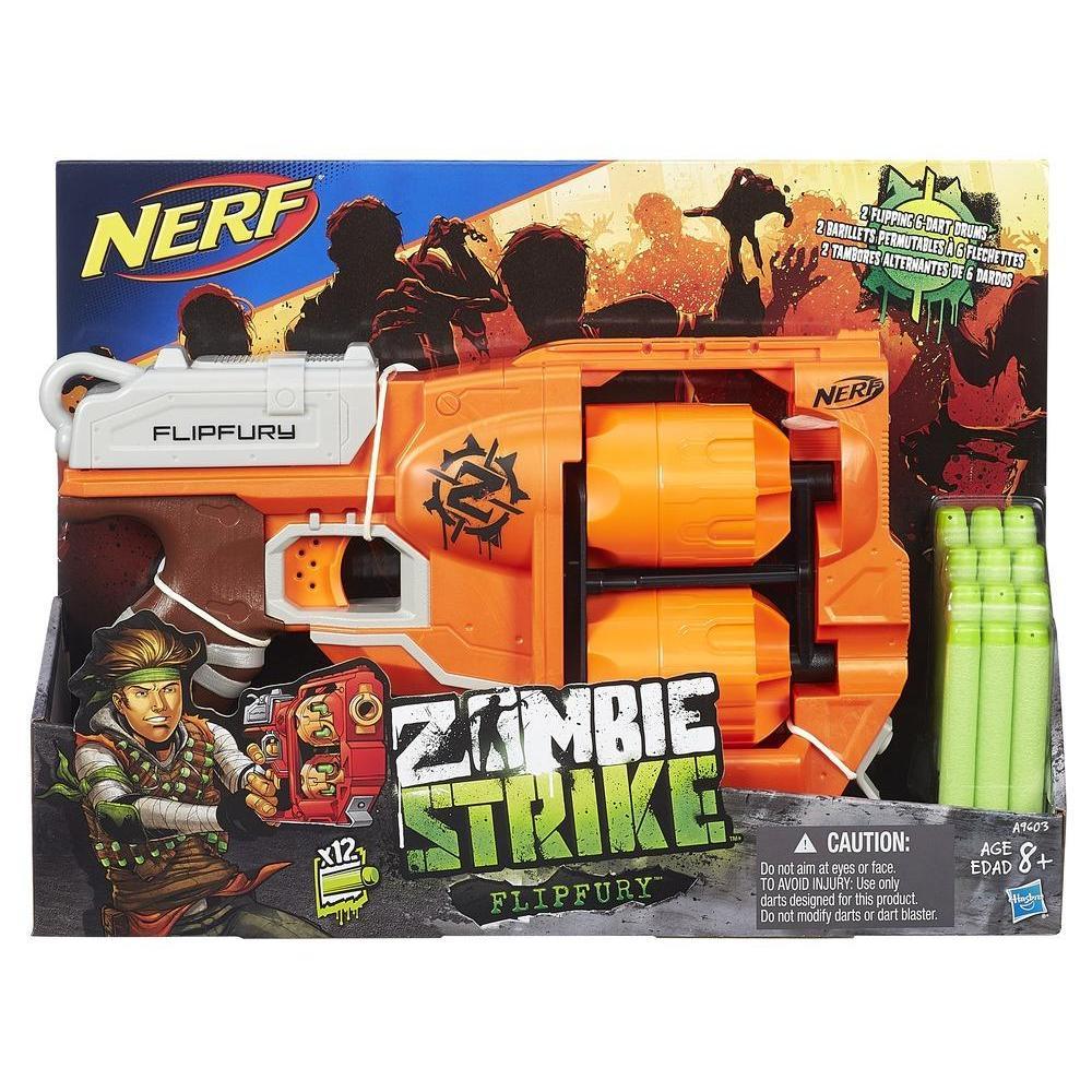 Nerf Zombie Strike Flipfury Blaster product image