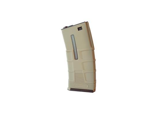 ICS AEG Tactical 300Round Magazine – Tan product image