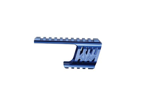 ASG Custom CNC Rail Mount for Dan Wesson 715 Blue product image