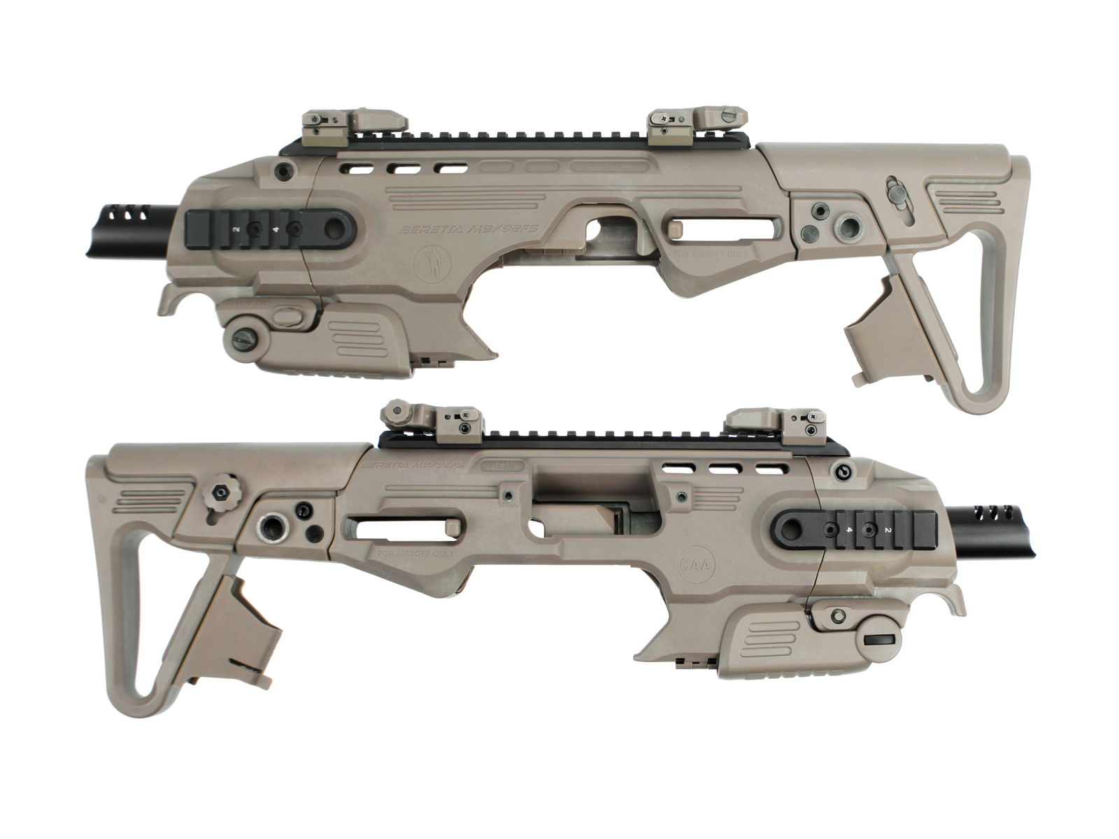 CAA – Airsoft RONI M9/M9A1 Conversion – Desert product image