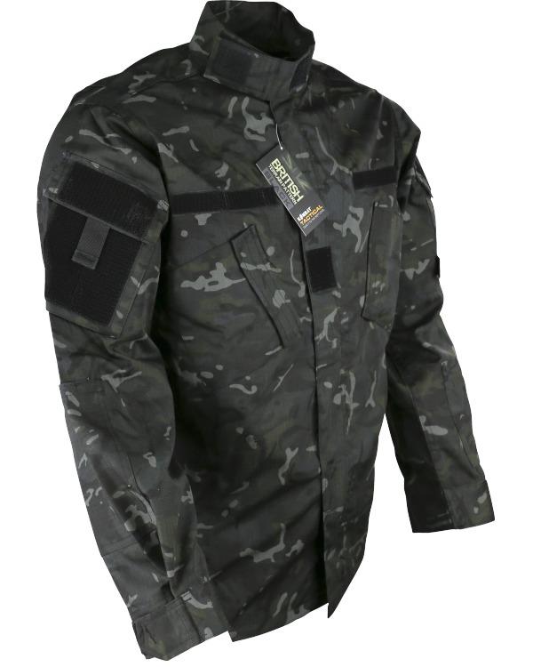 Kombat BTP Black ACU Shirt product image
