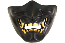 Nuprol Devil Lower Face Shield – Black image