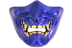 Nuprol Devil Lower Face Shield – Blue image