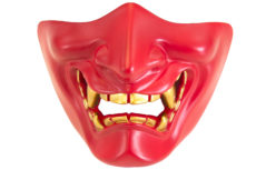 Nuprol Devil Lower Face Shield – Red image