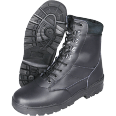 Mil-Com All Leather Patrol Boots Black image